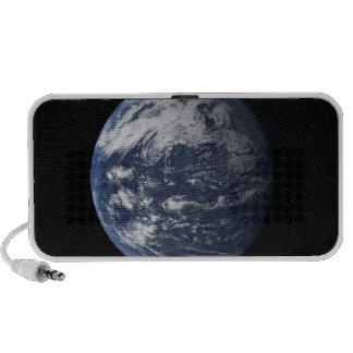 Full Earth centered over the Pacific Ocean Notebook Speaker