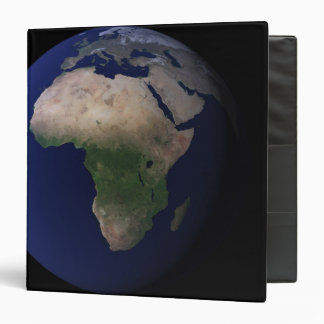 Full Earth showing Africa, Europe, &  Middle Ea Binder
