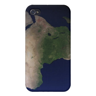 Full Earth showing Africa, Europe, & Middle Ea iPhone 4 Case