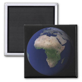 Full Earth showing Africa, Europe, &  Middle Ea Magnet