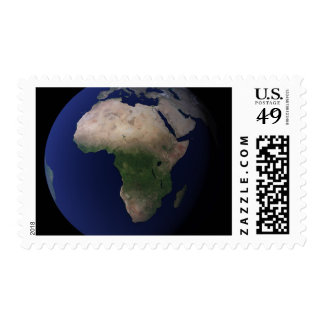 Full Earth showing Africa, Europe, &  Middle Ea Postage