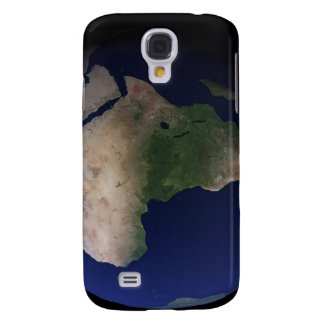 Full Earth showing Africa, Europe, & Middle Ea Samsung Galaxy S4 Cover