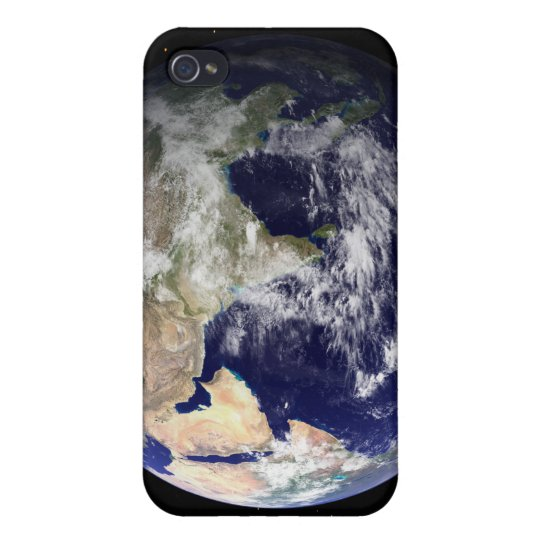 Full Earth showing Europe and Asia 2 Case For iPhone 4