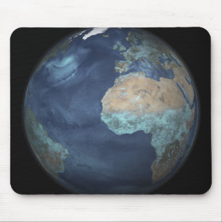 Full Earth showing evaporation Mouse Pad