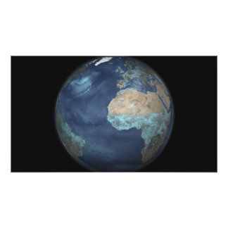 Full Earth showing evaporation Photo Print