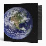 Full Earth showing North America 4 Binder