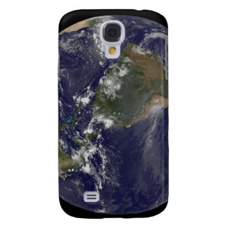 Full Earth showing North America and South Amer 2 Samsung Galaxy S4 Cover