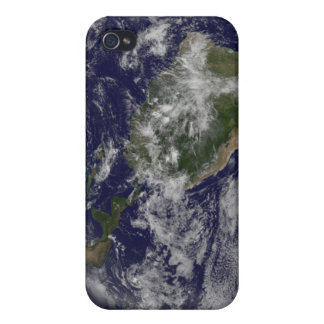 Full Earth showing North America and South Amer 4 iPhone 4/4S Cases