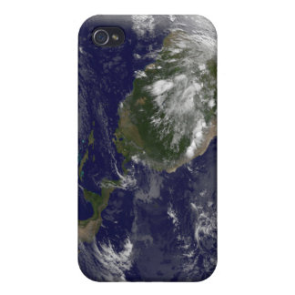 Full Earth showing North America and South Amer 5 Case For iPhone 4