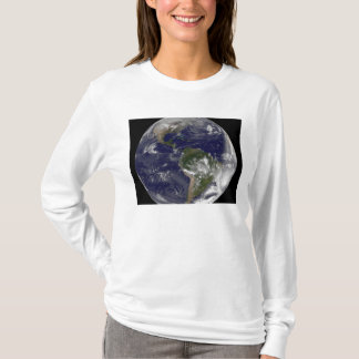 Full Earth showing North America and South Amer 5 T-Shirt
