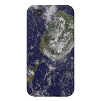 Full Earth showing North America and South Amer 6 iPhone 4 Cases