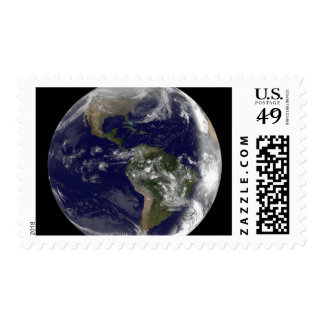 Full Earth showing North America and South Amer 7 Postage