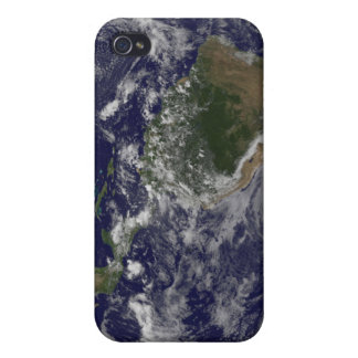 Full Earth showing North America and South Amer iPhone 4/4S Case