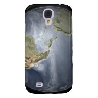 Full Earth view showing water vapor Samsung Galaxy S4 Cases