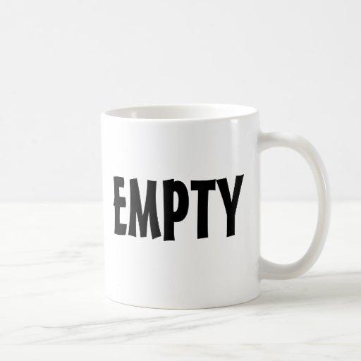 FULL / EMPTY  mug