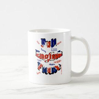 full english please coffee mug