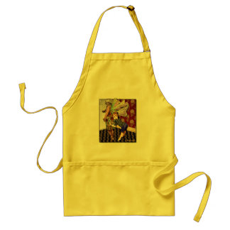 Full figured mother adult apron
