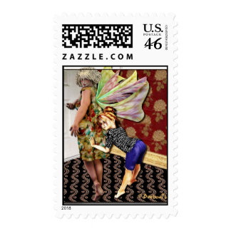 Full figured mother stamps