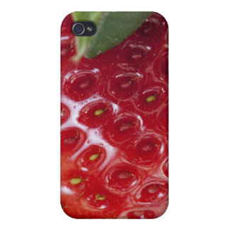 Full frame close-up of a Strawberry Covers For iPhone 4