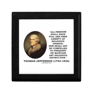 Full Free Liberty Of Religious Opinion Jefferson Gift Box