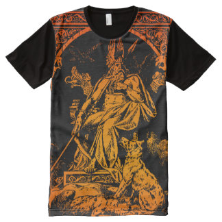 FULL FRONT ODIN ART SHIRT