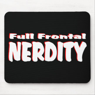 Full Frontal Nerdity #2 Mousepads