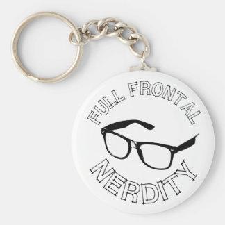 Full Frontal Nerdity Keychains