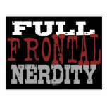 Full Frontal Nerdity Postcard