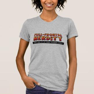 Full Frontal Nerdity Tee Shirt