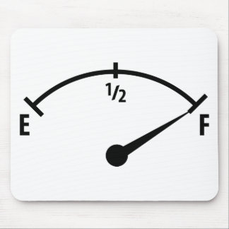 full fuel indicator icon mouse pad