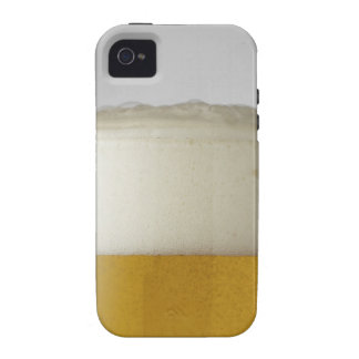 Full glass of beer indoors iPhone 4 cases