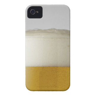 Full glass of beer indoors iPhone 4 case