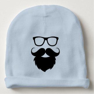 Full Grown Funny Beard Man Baby Beanie