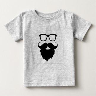 Full Grown Funny Beard Man Baby T-Shirt