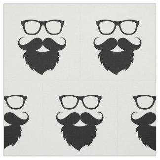 Full Grown Funny Beard Man Fabric