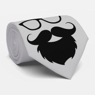 Full Grown Funny Beard Man Tie