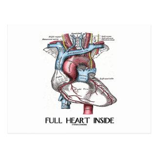 Full Heart Inside Postcard