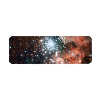 Full Hubble ACS Image of NGC 3603 Custom Return Address Label