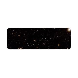 Full Hubble ACS View of Spiderweb Galaxy Field Custom Return Address Labels