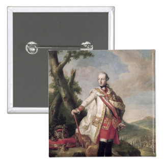 Full length portrait of Joseph II Pinback Button