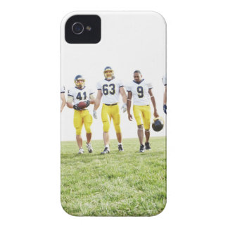 Full length portrait of rugby team iPhone 4 cover