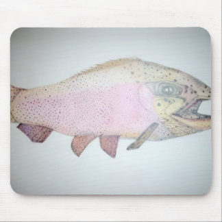 Full LengthTrout Mouse Pad