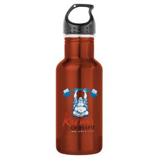 Full Logo Stainless Steel Water Bottle