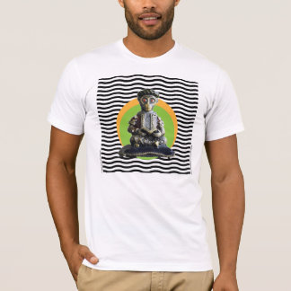 Full Lotus Monkey Scholar Meditating T-Shirt