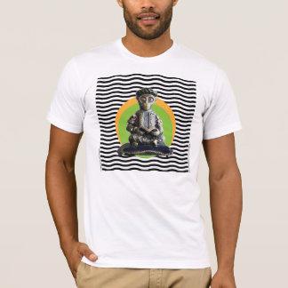 Full Lotus Monkey Scholar Meditating T-Shirt