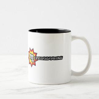Full MG Logo Two-Tone Coffee Mug