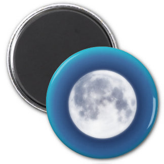 Full Moon 2 Inch Round Magnet