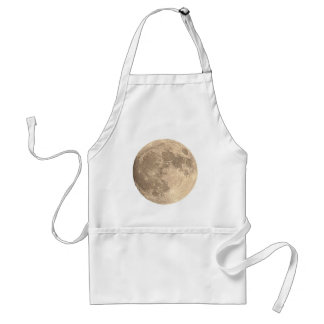 Full Moon Adult Apron