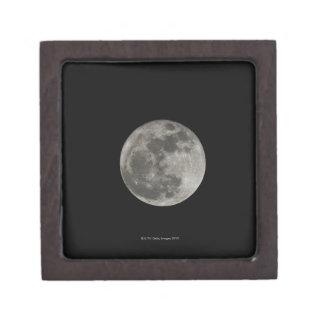 Full moon against night sky jewelry box