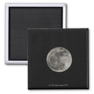Full moon against night sky fridge magnets